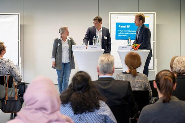 Bild: diskussion auf einer Veranstaltung